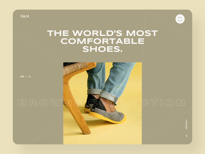 Shoes Website Design e-comerce minimalist clean uidesign shoes shop uiux ui website minimal