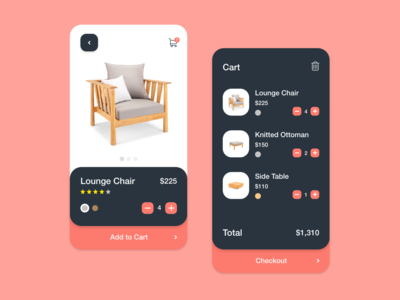 Furniture Shopping App