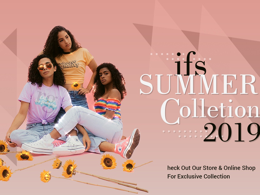 Ifs Summer collection 2019 clothes fashion blog designer style fashion art fashion typography branding