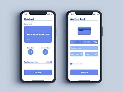Daily UI 002 - Card Checkout dailyui 002 dailyuichallenge dailyui