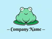 Tranquil Frog Logo