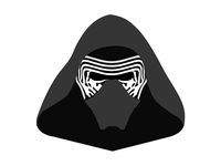 Star Wars Kylo Ren screen print