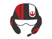 Star Wars Poe Dameron screen print