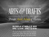 Arts & Drafts poster