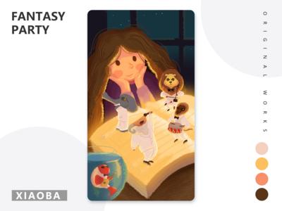 Fantasy party