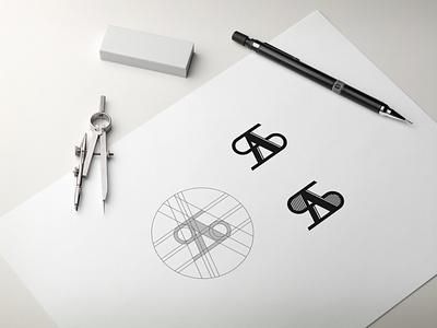 AS MONOGRAM LOGO. initials initial logo best logo awesome logo logogrid sketch minimal vector monogram logo monogram design monogram identity design branding logo