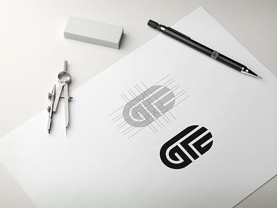 GFC MONOGRAM LOGO grid logo logoawesome awesome logo sketch brand identity best logo logogrid initial logo flat minimal vector monogram logo monogram design monogram identity design branding logo