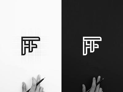 TF MONOGRAM LOGO logogrid awesome logo best logo flat minimal vector monogram logo monogram design monogram identity design branding logo