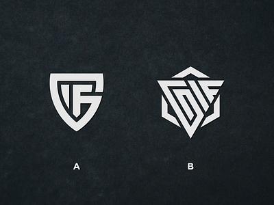 GIF MONOGRAM LOGO triangle shield logo monochrome best design best logo logoawesome logodesign logos logotype minimal vector monogram logo monogram design monogram identity design branding logo
