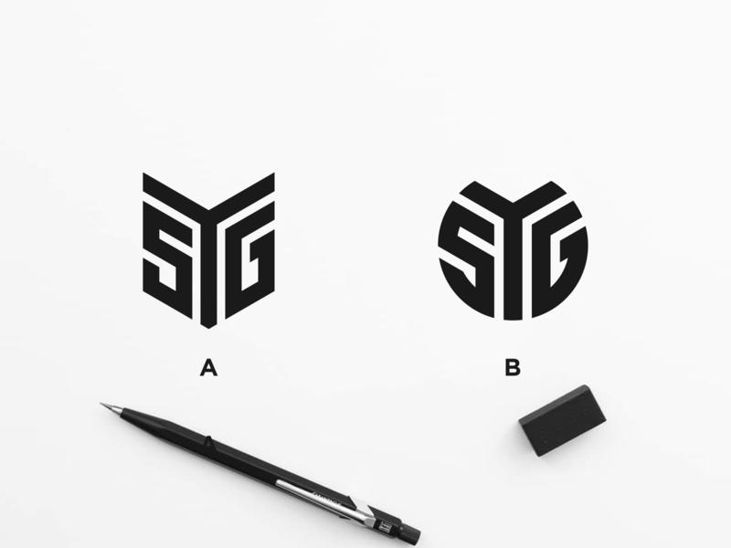 SYG MONOGRAM LOGO apparel logo kuwait australia newyork asia needalogo flat minimal vector monogram logo monogram design monogram identity design branding logo