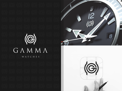 GAMMA WATCHES paris newyork best designer best design best logo logoawesome logodesign logotype dior gucci rolex watches luxury logo design monogram logo monogram design monogram identity branding logo