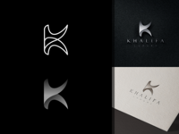 Letter K for KHALIFA LUXURY letter k logo luxury logo luxury monogram logo monogram design monogram identity branding logo