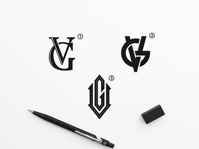 VG MONOGRAM LOGO california modern logo vintage logo apparel design clothing label clothing brand clothing apparel logo company logo monogram letter mark monograms vector design monogram logo monogram design monogram identity branding logo