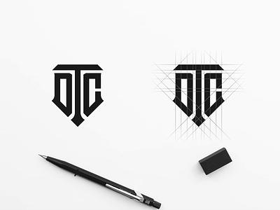 DTC LOGO DESIGN creative logo best logo awesome logo logoproject logo design logoprocess logodesign logotype logos type minimal vector design monogram logo monogram design monogram identity branding logo