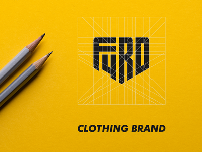 F4RD (CLOTHING BARND) UNUSED apparel sports wear sports logo fitness logo apparel logo awesome logo best logo shield logo clothing brand logo clothing brand branding design brand identity brand guide logodesigner monogram design monogram identity branding logo