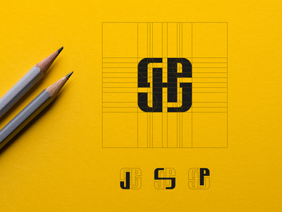 JSP MONOGRAM (LOGO PROCESS) fitnesslogo gym fitness newyork america graphic design modernlogo apparelbrand clothingbrand awesomelogo bestlogo logoawesome logogrid monogram logo logoprocess monogram design monogram identity branding logo