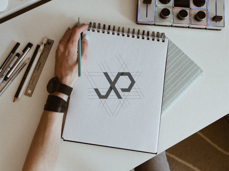 JXP Monogram type minimal clean brand art illustration vector ui ux typography monogram logo monogram design monogram lettering identity icon flat design branding logo