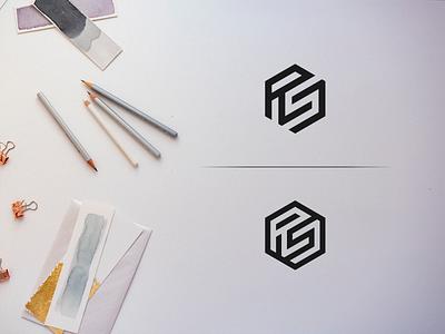 Rs Monogram corporate logo design corporate brand identity brand type minimal illustration art clean lettering typography vector monogram logo monogram design monogram identity icon flat design branding logo