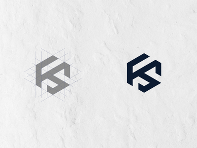 Fs Monogram logo design corporatelogo vector brand minimal art type monogram logo monogram design monogram identity icon flat design branding logo