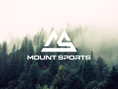 Mount Sports logomaker logos modernlogo profesionallogo illustration illustrator creativelogo brand identity customlogo companylogo vector monogram logo monogram design monogram identity icon flat design branding logo