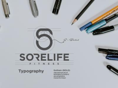 SORELIFE FITNESS logo concept