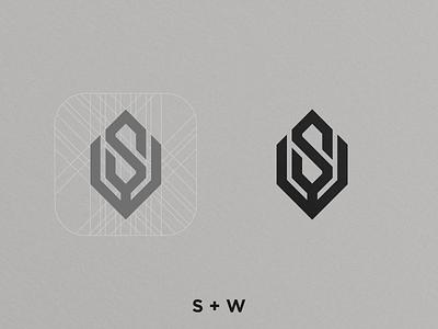 SW Monogram logo design photooftheday corporate brand identity logoworld corporate logo design art illustration minimal icon brand clean flat vector monogram logo monogram design monogram identity design branding logo
