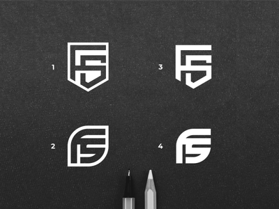 FS MONOGRAM usa asia logosai logoawesome clothinglogo fashionlogo fashion corporate design shieldlogo fslogo flat minimal vector monogram design monogram logo branding design identity monogram logo