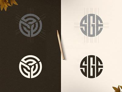 SGE MONOGRAM apparel logo fashion logo logoplace logoawesome logotype branding design brand design brand identity flat minimal vector monogram design monogram logo branding design identity monogram logo