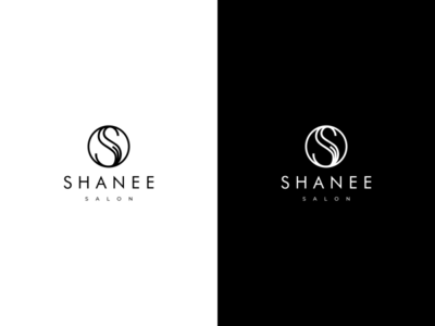 SHANEE SALON logotype salon logo salon luxury branding luxury brand luxury design luxury logo luxury typography minimal vector monogram logo monogram monogram design branding design identity logo