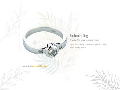 Customize Ring - Dailyui #33 (Customize Product)