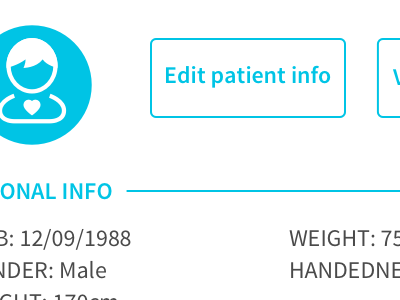 Edit Patient Info patient icon edit