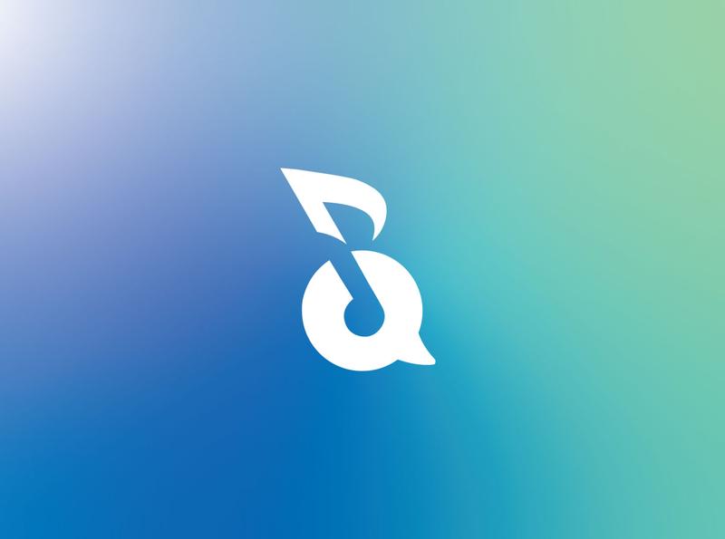 Chat Music branding design brand identity brand flat branding illustrator vector design logo design icon logo music art chatting music chat