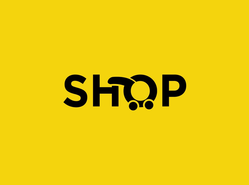 shop idenity company logo company design vector lettering letter ai logo design o shop logodesign logo e shop shopping app shopping shop