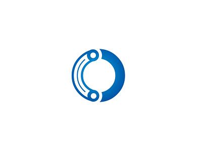Letter O  technology logo technical company logo logotype o letter logo latter lettering illustrator vector design logo design icon logo o tech logo techonology tech logo tech o