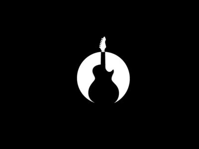 Negative Space Guitar