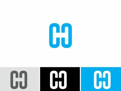 Negative Space Ch Logo