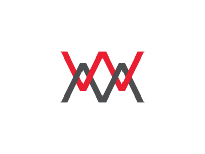 Latter M And W Combination Logo