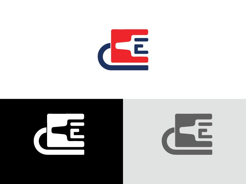 Latter E Ethernet Cable Logo ai vector logo cable logo latter e ethernet cable logo e latter