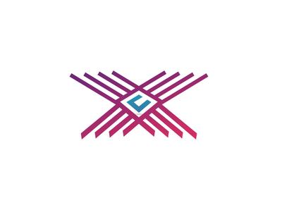letter c creative logo concept