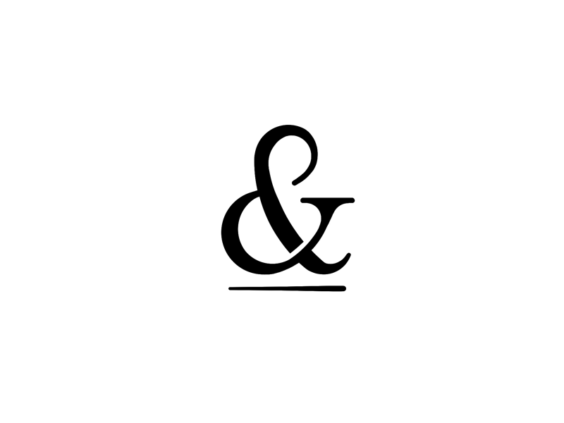 & per se, and and tattoo logogram glyph ampersand