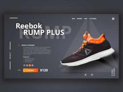 Reebok Sneakers presentation
