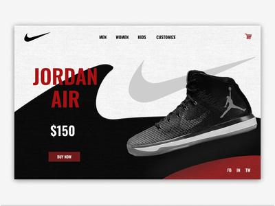 Michael Jordan Sneakers Concept