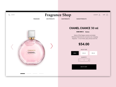 Perfume Product Page