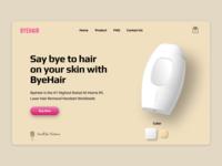 Byehair E-commerce shot