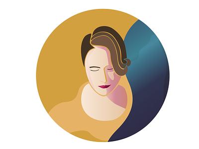 F illustrator illustration portrait illustration fleabag