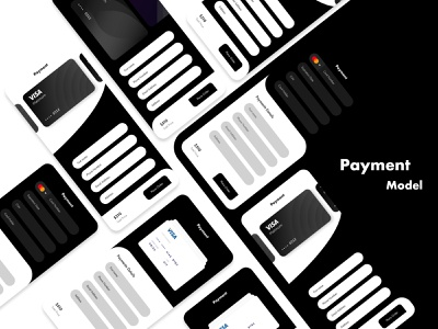 4 Different types of Payment Model payment model new one payment uikits kit