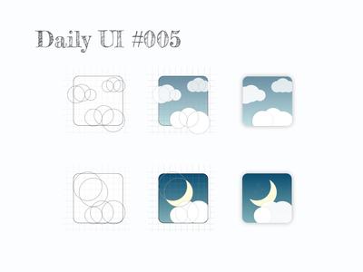 Daily UI #005 - Icon App
