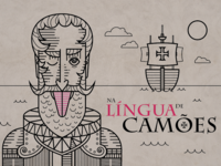Na língua de Camões