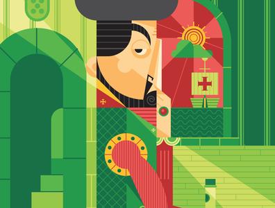 Dom João II character character creation poster portugal vector vector art adobe illustrator illustration