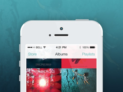 IOS Music Player Full Project ios mobile musicplayer iphone